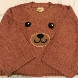 Juicy Couture teddy bear oversize sweater